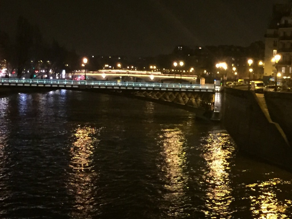 Paris bridges...don't they look so good at night..